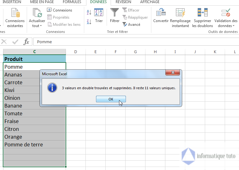 Tutoriel Excel: Comment supprimer les doublons