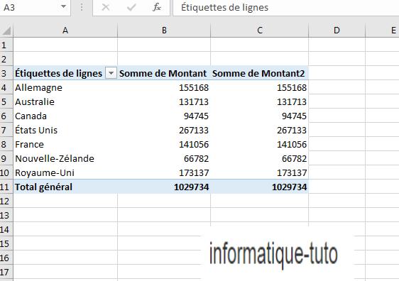 Tutoriel Excel : Créer un tableau croisé dynamique en quelques clics