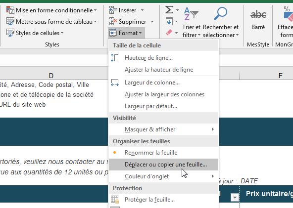 Tutoriel Excel: comment dupliquer une feuille de calcul