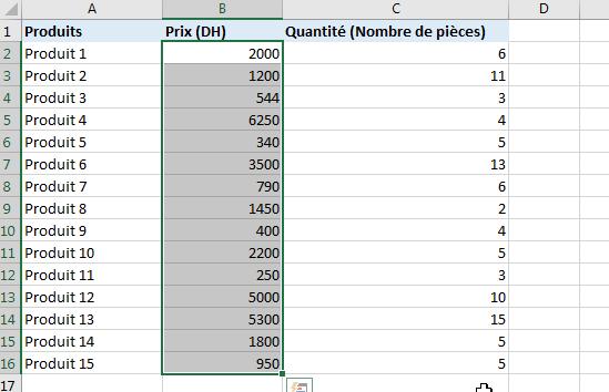mise en forme conditionnelle Excel