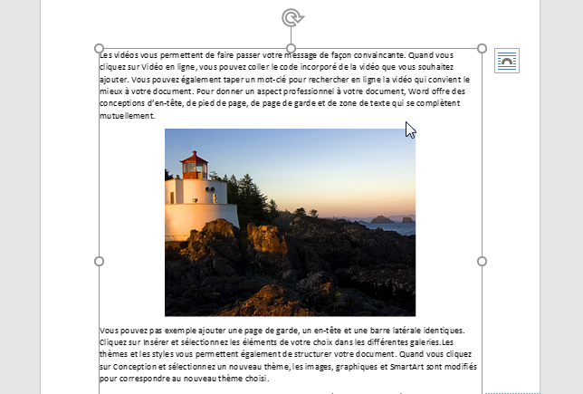 Convertir Word en JPEG