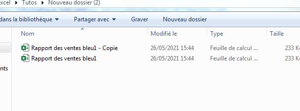 compresser un fichier excel